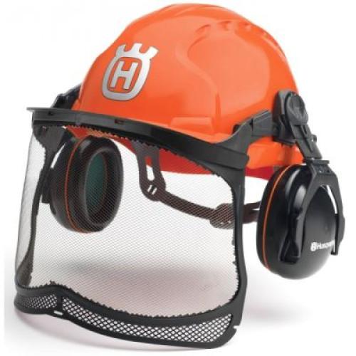 Защитный шлем Husqvarna Classic с наушниками и маской